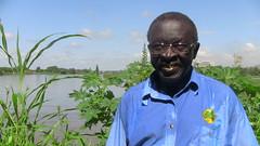 Wilson Abisai Lodingareng, 65, is a peri-urban farmer and former Sudan People's Liberation Army member. He's started a war veteran's co-op in Juba, South Sudan's capital. Credit: Adam Bemma/IPS