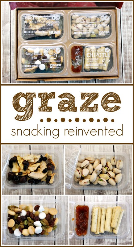 Snacking reinvented with Graze. #graze #snack #ad
