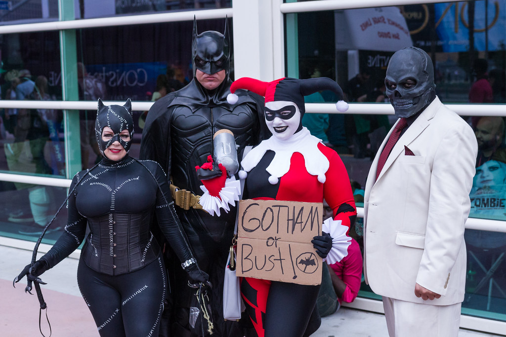 Batman and his enemies SDCC 2014