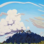 Tracy Felix; Colorado Panorama; Oil on panel; 36x48; 2014; Courtesy of William Havu Gallery, Denver -