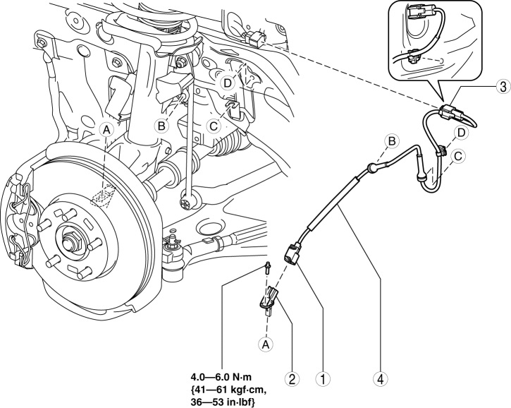 abs and skid light constant