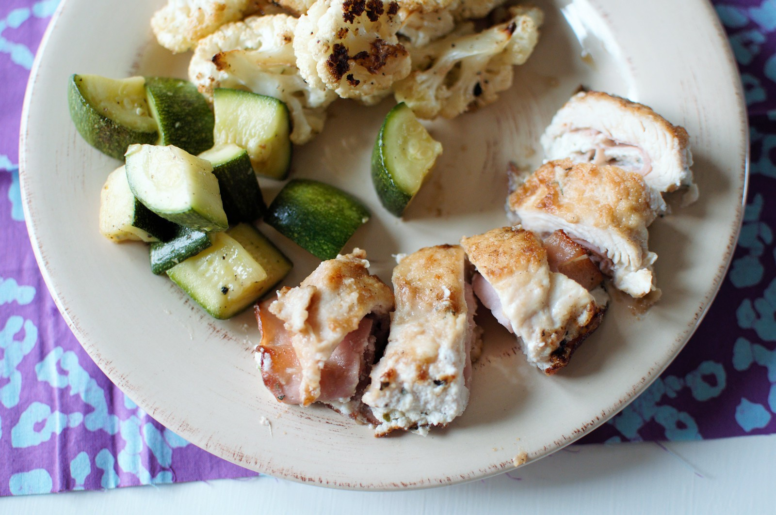Chicken Roll-Ups {Lightened Up} 5