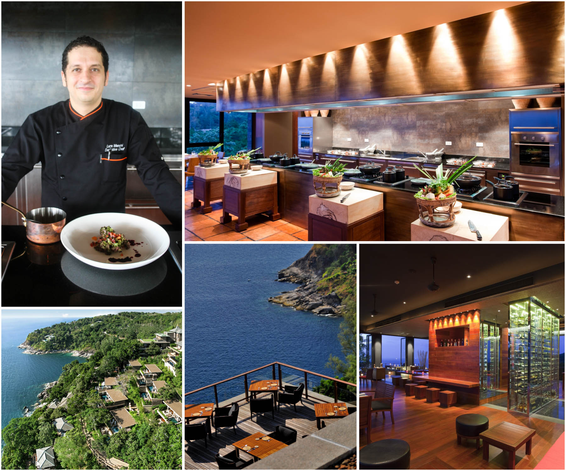 Paresa Resort Executive Chef Luca Mancini