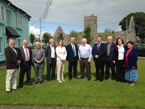 Visit to CE Schemes in North Galway, 22 August 2014