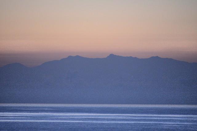 海上遠望玉山