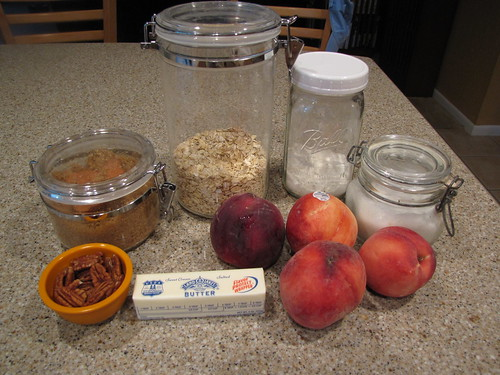 Baked Stuffed Peaches Ingredients