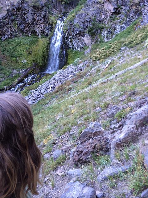 View of Plaikni Falls