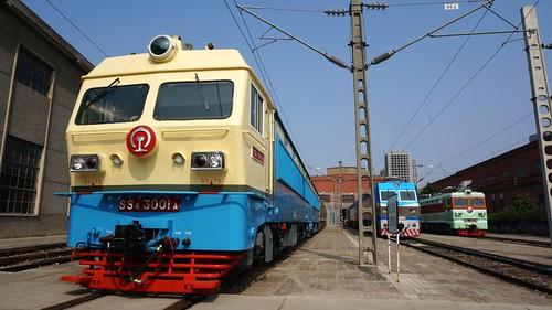 资阳机车厂制造的唯一一辆韶山四型电力机车。