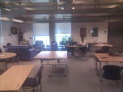 Almost empty coffee room