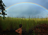 B en el arcoiris