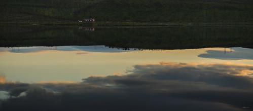 sunrise cabin tana finnmark seidafjellet