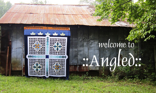 welcome to ::Angled:: at Stitched in Color