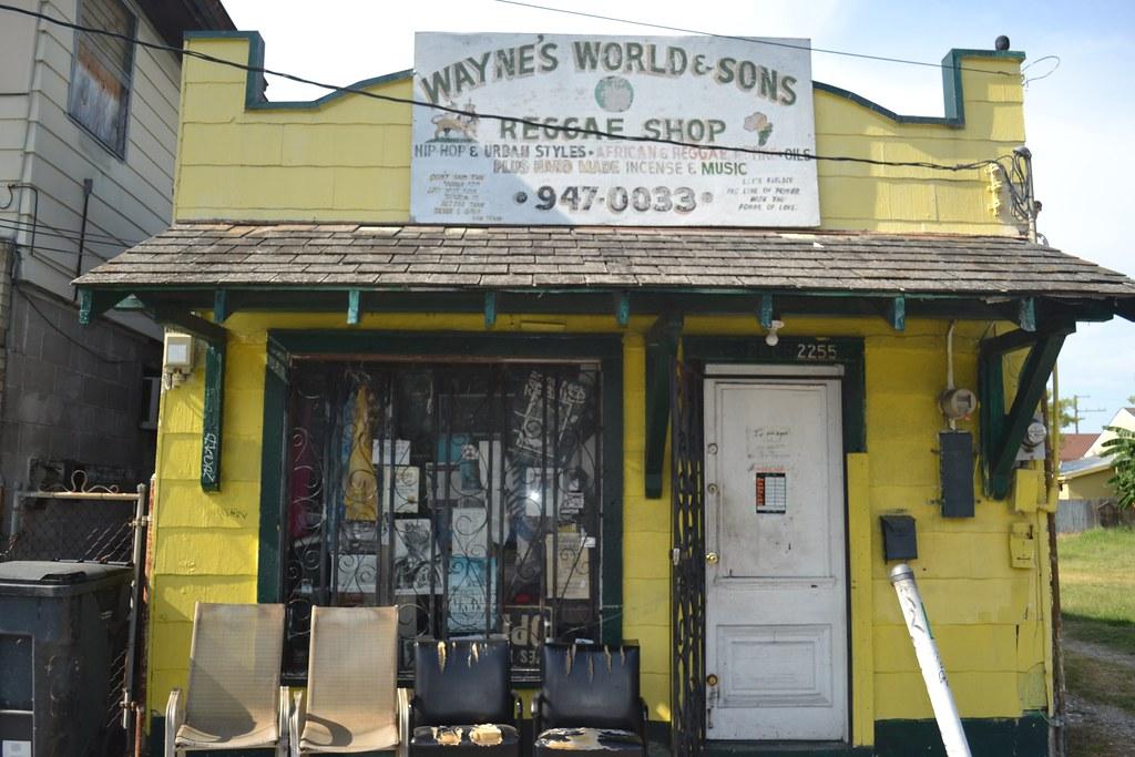692 Wayne's World Reggae Shop