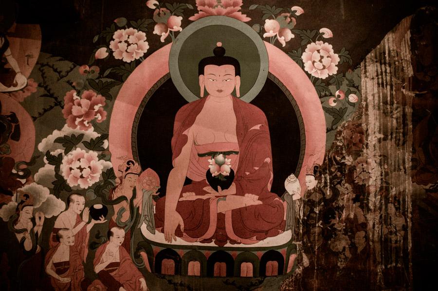 Будда Шакьямуни. (монастырь Стакна) © Kartzon Dream - авторские путешествия, авторские туры в Ладакх, тревел фото, тревел видео, фототуры
