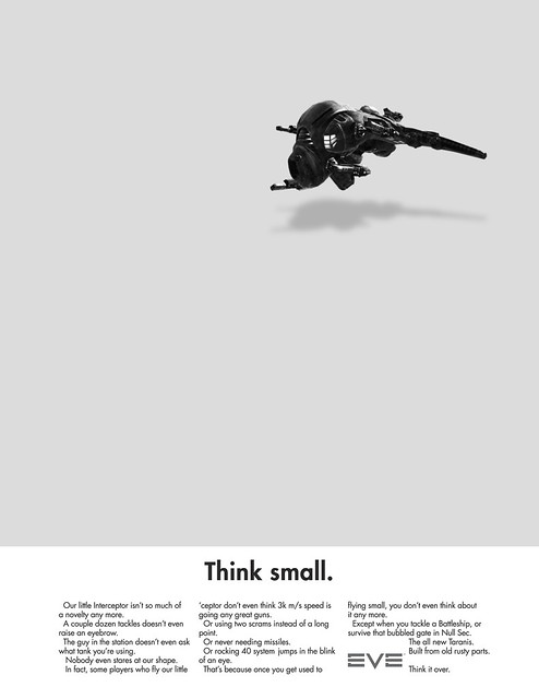 Eve Think Small Ad