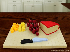 LEGO Cheese Platter