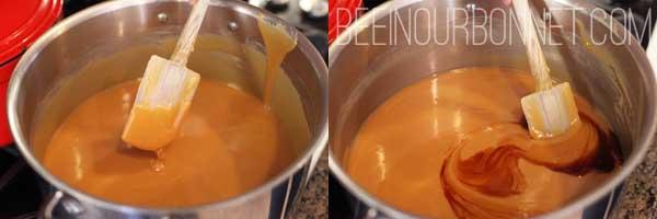 making caramel apples 3