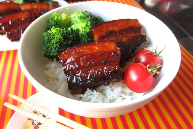 glazed teriyaki pork belly 1408