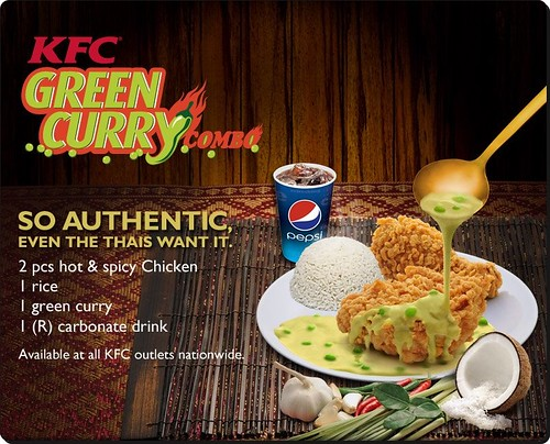Review - KFC Green Curry !
