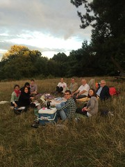 Unit picnic on hampstead heath
