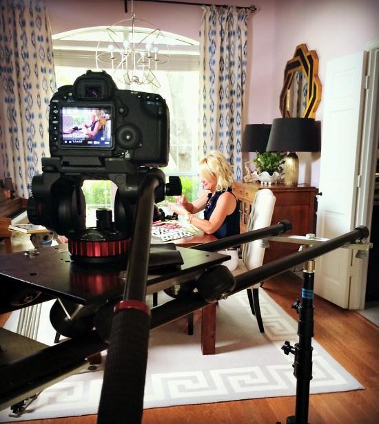 Hi Sugarplum   Video Shoot behind the scenes