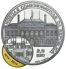 Portugal's Eccentric Bimetallic Coin reverse