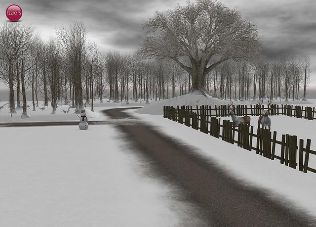 Winter Road Building Set