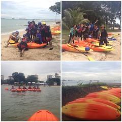 Orange you glad it didn't rain?!?! #7pgu #uwcsea_east #kayak
