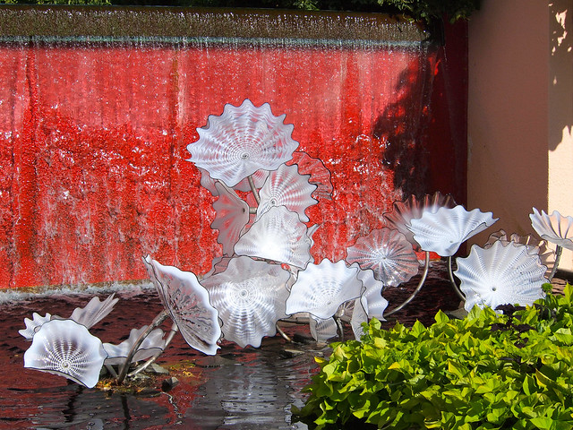 Dale Chihuly glass exhibit at Denver Botanic Gardens