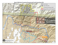 Bowie Proposal and N Fruita RA Map