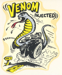 venom injected