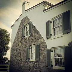 Sideview Lightkeeper's house Havre de Grace, MD