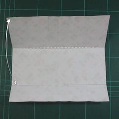 วิธีพับกล่องของขวัญแบบมีฝาปิด (Origami Present Box With Lid) 011