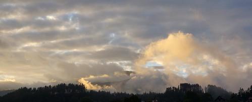 sunset sky alps austria kärnten carinthia alpen seeboden