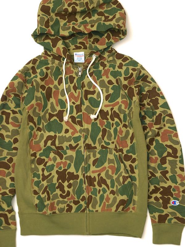 Champion / Reversweave Zip Hooded Shirt