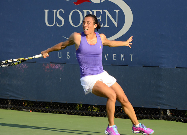 2014 US Open (Tennis) - Tournament - Francesca Schiavone