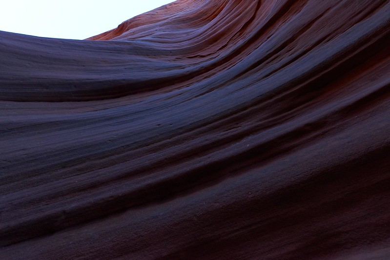 Waves in Peek-a-boo Slot Canyon - Grand Staircase Escalante National Monument