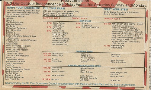 07/02 - 07/04/83 Taste of Minnesota 1983 (Ad-Bottom)