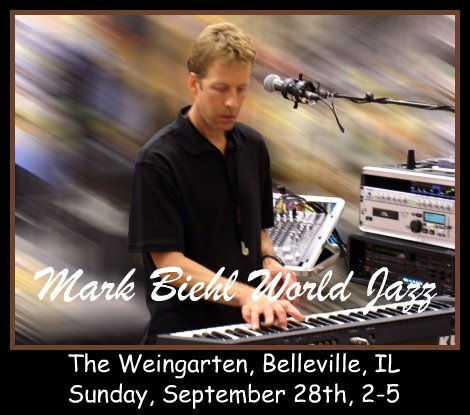 Mark Biehl World Jazz 9-28-14