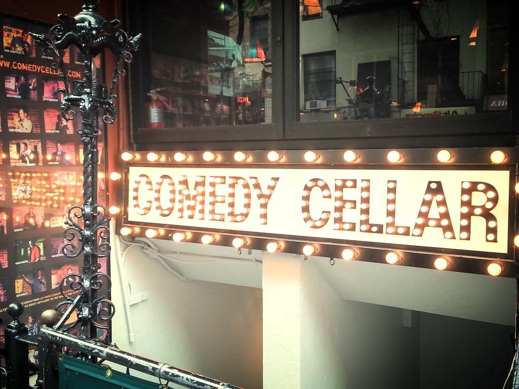 Comedy Cellar. Louis CK. New York City.