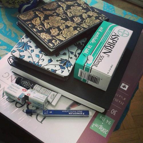 Essential artist's supplies