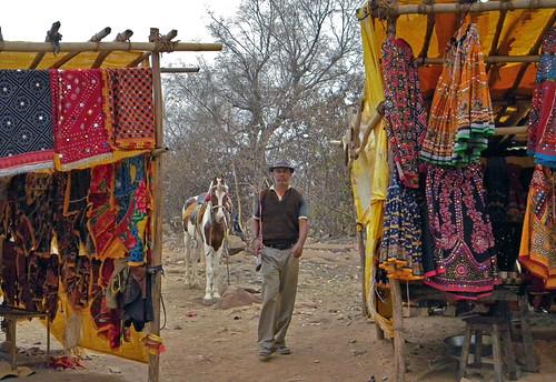 Chittor Market Stalls