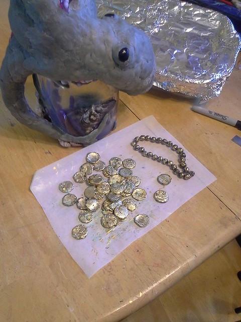 making treasure