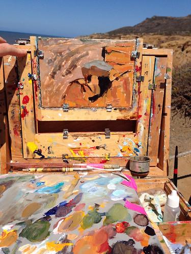 Painting at Cabrillo