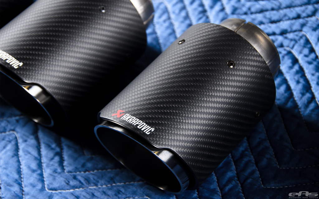 Akrapovic Evolution Exhaust For F80 M3 F82 M4 Weights