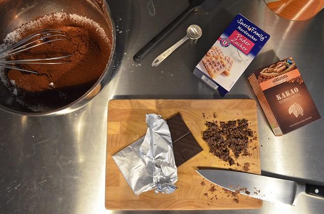 Chocolate Brownie Cookies Bon Appetit recipe ingredients Lindt chocolate