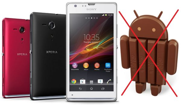 Android 4.4 KitKat для Xperia SP