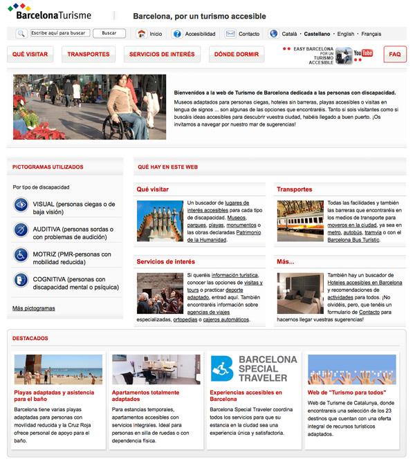 turismo acessível em Barcelona