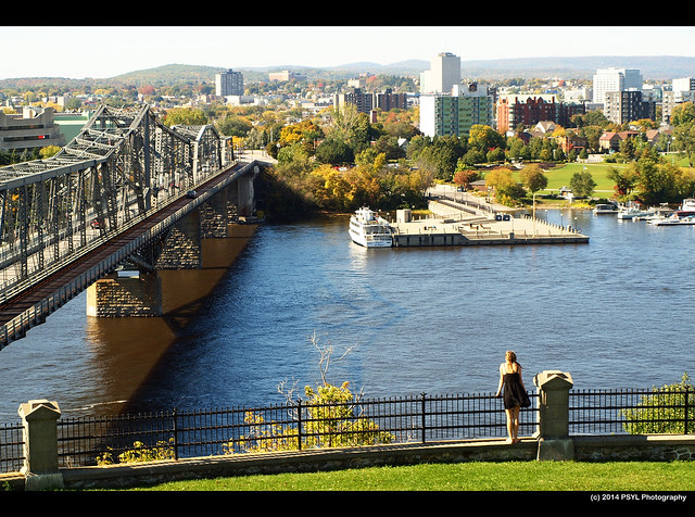 Overlooking Ottawa River
