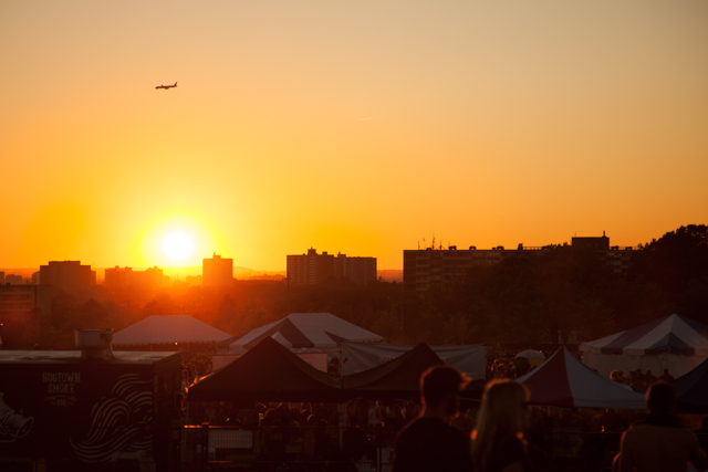 Riot Fest Sunset